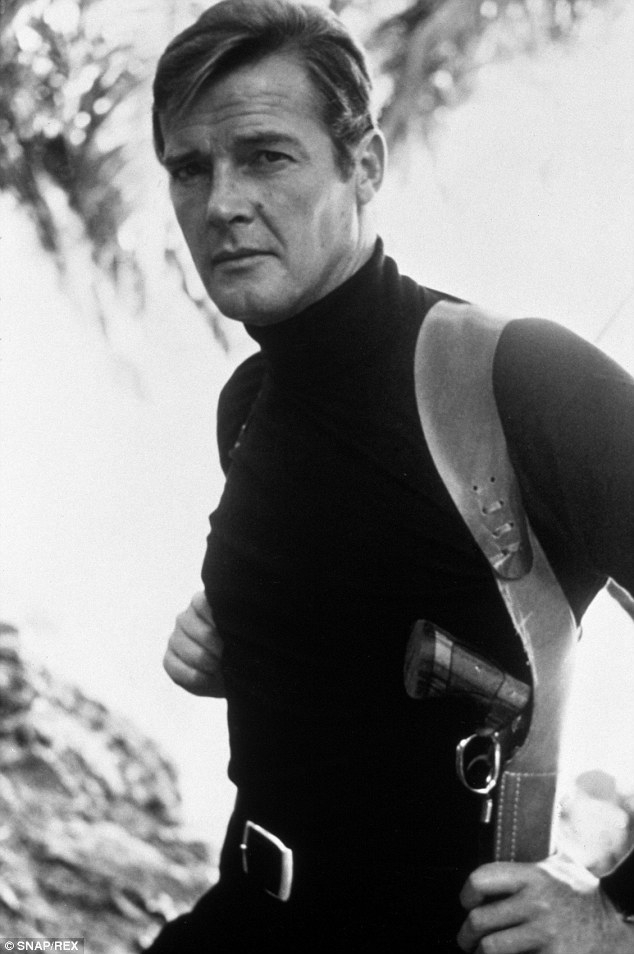 Moore in Turtleneck
